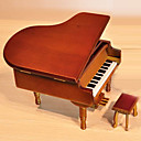 Personalized Wood Piano Design Music Box