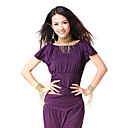 Dancewear Viscose Belly Dance Short Sleeve Top For Ladies More Colors
