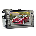 8 polegadas de DVD do carro para TOYOTA COROLLA (Bluetooth, GPS, iPod, RDS, SD / USB, controle de volante, tela de toque)