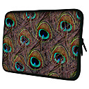 Peacock feather Laptop Sleeve Case for MacBook Air Pro/HP/DELL/Sony/Toshiba/Asus/Acer