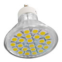 4W GU10-24SMD LED Light with 24 LEDs (10 Packs)
