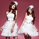 Belle White Angle organza et satin princesse Costumes (4 Pieces)