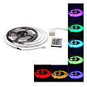 Waterproof 5M 300x3528 SMD RGB Light LED Strip Lamp with 24-Button Remote Controller Set (12V)