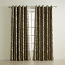 (Two Panels) Splendor Novelty Spirals Blackout Curtains