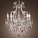 Crystal Chandelier with 5 Lights in Metal