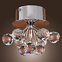 CABARRUS - Lampe Murale Florale Cristal