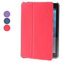 Tela Piel PU Funda de cuero con soporte para iPad mini (colores surtidos)