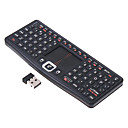 Rii mini Touch N7 2.4GHz Mini Wireless Full Qwerty Keyboard For PC, HTPC, Apple, Xbox360, Wii, PS3