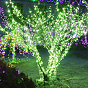 20m LED verde Lmpara LED String con 160 - Decoracin de Navidad y Halloween (Star)