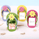 Slippers Place Card/Photo Frames(Set of 4 colors)