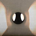 40W G9 Metal Black Wall Light in Circle Feature