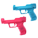 Pair of Rumble Blaster Light Gun for Wii/Wii U (Pink and Blue)