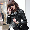 ALAN Faux Leather Jacket