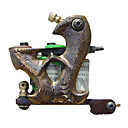 Damascus Brass Tattoo Machine Gun for Liner