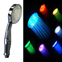 Contemporary 7 Colors Changing LED Handle Shower Head(Chrome Finish)