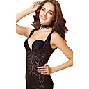 Chinlon with Leopard Pringting Bustier Daily Wear Shapewear