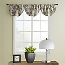 Country Floral Ascot Valance