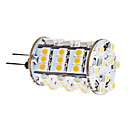 G4 3.5W 54x3528 SMD 240-260LM 3000-3500K bianco caldo lampadina LED Light Corn (12V)