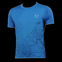 Men's Outdoor Square Print Quick-dry Sport T-shirt