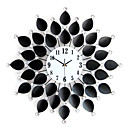 26,5 &quot;Metal Moderno Reloj de pared de cristal