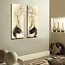 Stretched Canvas Print Still Life Set of 2 1301-0198