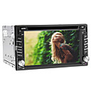 6.2 polegadas 2 DIN Car DVD Player com GPS, TV, iPod, Bluetooth