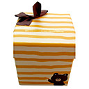 Bella Stripe Gift Box Con Nastro bowknot