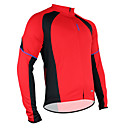Santic Polyester+Mesh Long Sleeve Breathable+Quick-Drying Cycling Jacket for Men C01012R