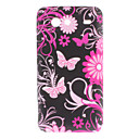 Butterfly Pattern Soft Case para Advance Samsung Galaxy S I9070