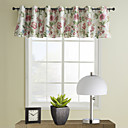 Country Floral Tailored Valance