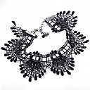 Design Hollow Black Lace Choker Necklace
