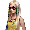 Mixcolor Synthetische Feather Hair Extensions