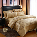 Yale Print Full 4-Piece Duvet Cover Set