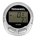 ROSWHEEL Digital LCD 13 Funktionen Wasserdicht Wired Fahrradcomputer 81489