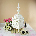 Hermosa Floral Cut-out Iron Lantern Candle