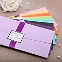 Personalized Wedding Invitation With Ribbon - Set of 50(More Colors)