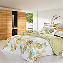 Isidore Print Full 4-Piece Duvet Cover Set