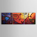 Hand-painted Oil Painting Abstract Set of 3 1302-AB0311