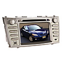 7 polegadas carro dvd player para Toyota Camry / Aurion (bluetooth, gps, ipod, rds, SD / USB, controle de volante)
