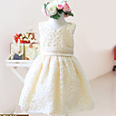 Lovely Ball Gown Sleeveless Lace Wedding/Evening Flower Girl Dress