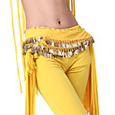 Performance Dancewear Chiffon with Coins Belly Dance Belts For Ladies