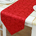 Traditional Jacquard Floral Table Runners