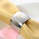 Personalized Circle Stainless Steel Napkin Ring