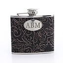 Gepersonaliseerde Floral Design 5-oz Flask