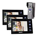"7""Color Video Door Phone , with SD card Picture Record,Taking Photo (1 Camera To 3 Monitor)"