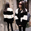 Women's Fleece Stripe Jacket