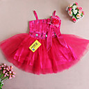 Nice Ball Gown Spaghetti Straps Satin/Tulle Wedding/Evening Flower Girl Dress