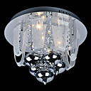 Crystal Flush Mount with 12 Lights in G4 Base