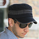 Adjustable Pure Cotton Flat Hat(55-58cm)