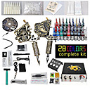 2 Machine sculpté kit de tatouage fusils Liner et Shader